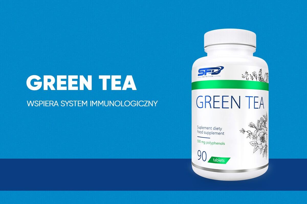 zielona herbata w kapsułkach