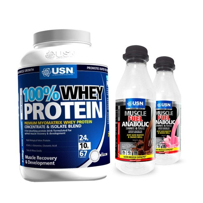 usn anabolic muscle fuel 2kg