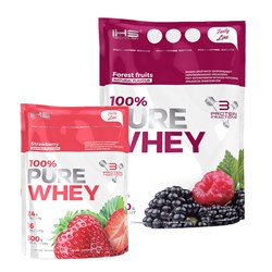 100% Pure Whey + 100% Pure Whey - 2000g+500g