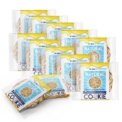 10x Natural Cookie + 2x Natural Cookie - 10x60g+2x60g
