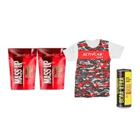 2X MASS UP + BCAA ENERGY + T-SHIRT