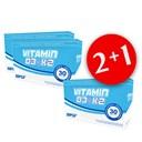 2xVitamin D3 + K2 + Vitamin D3 + K2