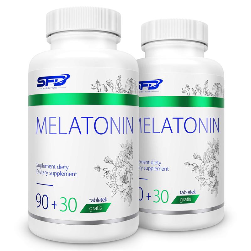 SFD NUTRITION 2x Melatonin 120tab
