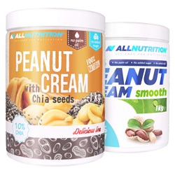 2x Peanut Cream 1000g