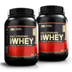 2x Whey Gold Standard 100% 908g