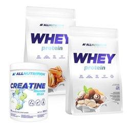 2x Whey Protein + Creatine FREE