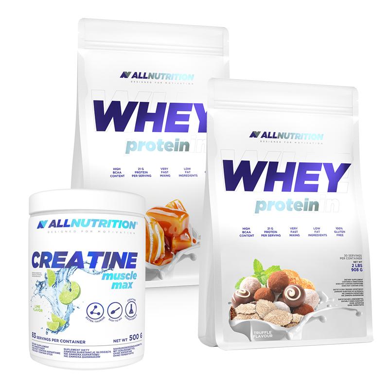 ALLNUTRITION 2x Whey Protein + Creatine FREE