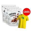 3xWhey Protein+T-shirt Arnold Classic