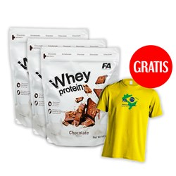 3xWhey Protein+T-shirt Arnold Classic - 3x908g+1szt