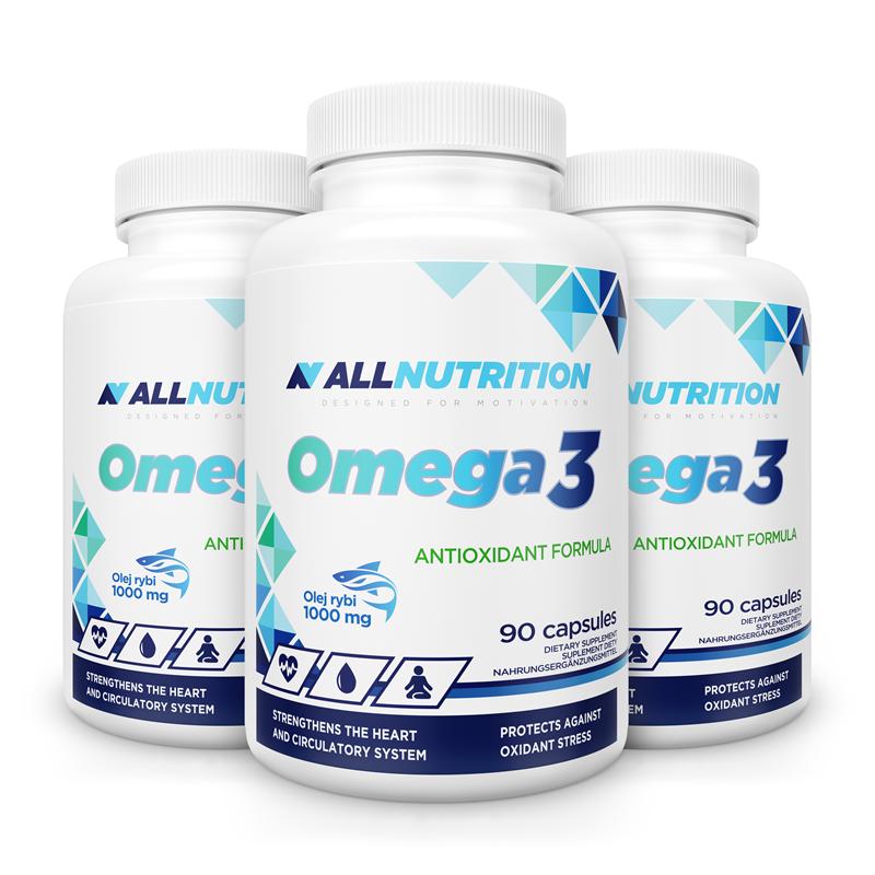 ALLNUTRITION 3x Omega 3 90caps