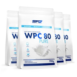 4x WPC 80 Pure Protein