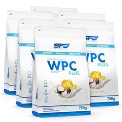 5x Wpc Protein Plus 750g + Wpc Protein Plus 750g GRATIS