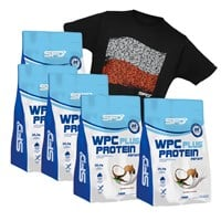 5x Wpc Protein Plus + T-shirt