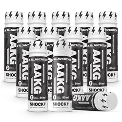 9x AAKG Shock Shot + AAKG Shock Shot - 10x80ml