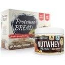 ALLNUTRITION Nutwhey Peanut Caramel 500g + Proteineo Bread 110g GRATIS ()