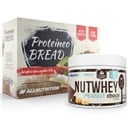 ALLNUTRITION Nutwhey Peanut Choco 500g + Proteineo Bread 110g GRATIS ()