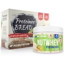 ALLNUTRITION Nutwhey Pistachio 500g + Proteineo Bread 110g GRATIS ()