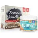ALLNUTRITION Nutwhey Salted Caramel 500g + Proteineo Bread 110g GRATIS ()