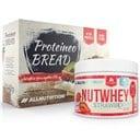 ALLNUTRITION Nutwhey Strawberry 500g + Proteineo Bread 110g GRATIS ()