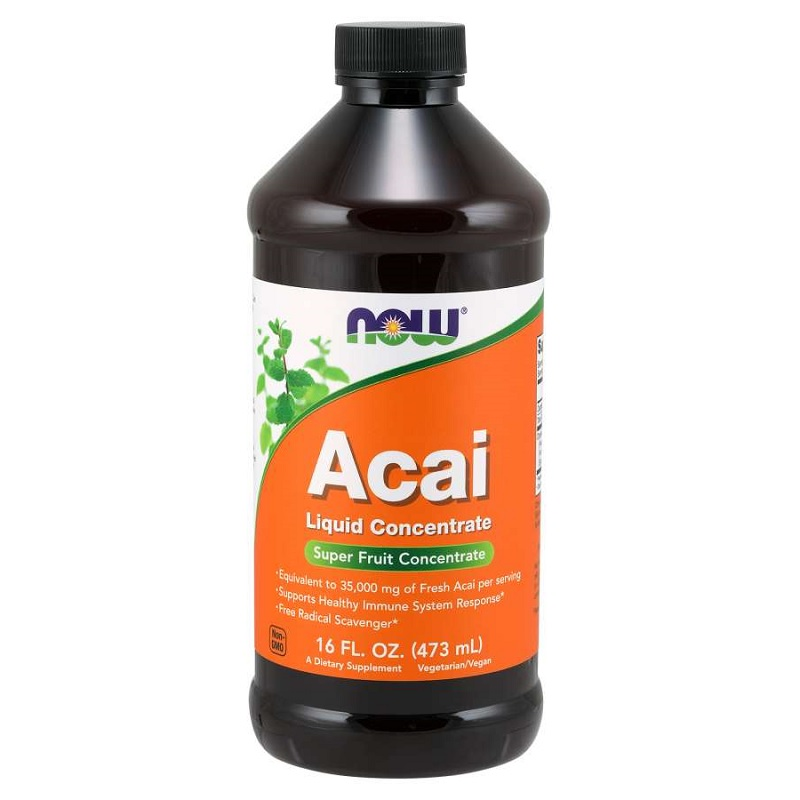 Now Acai Liquid Concentrate