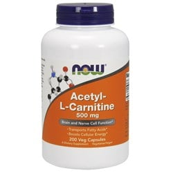 Acetyl-L Carnitine - 200veg caps(500mg)