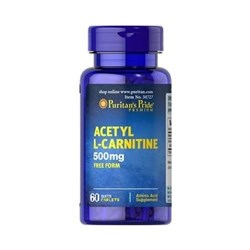 Acetyl L-Carnitine 500 mg - 60caplets