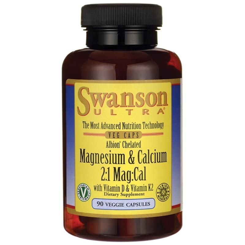 Swanson Albion Chelated Magnesium & Calcium 2:1
