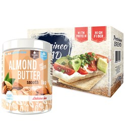 Almond Butter+Proteineo Bread - 1000g+110g