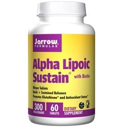 Alpha Lipoic Sustain with Biotin - 60tabs