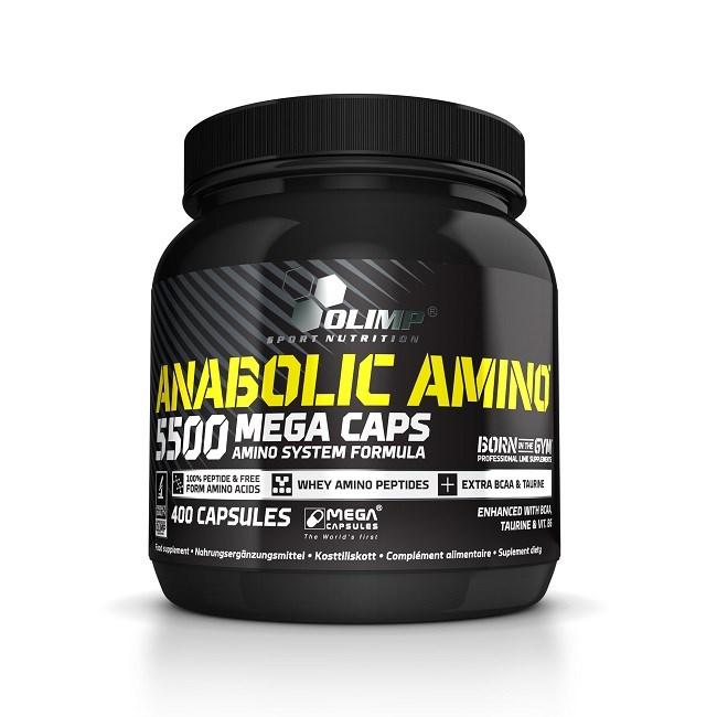 olimp anabolic amino 5500 opinie
