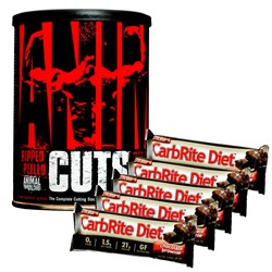 Animal Cuts + 5x Carbrite Diet Bar