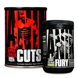 Animal Cuts + Animal Fury - 42pack+80g