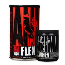 Animal Flex + Whey Trial GRATIS