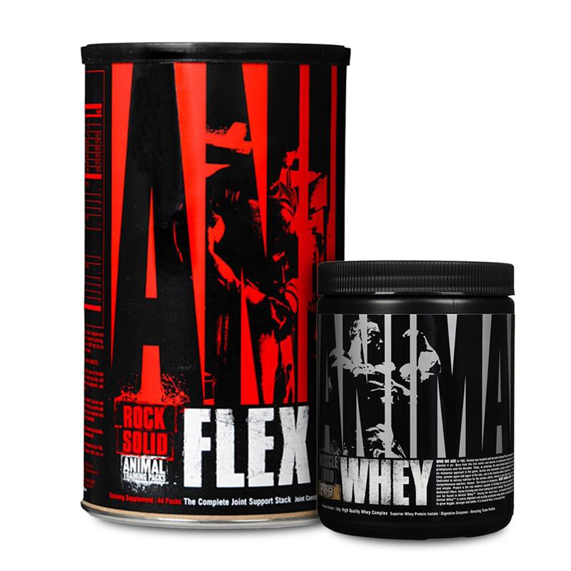 Universal Nutrition Animal Flex + Whey Trial GRATIS
