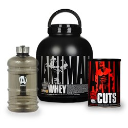 Animal Whey+Animal Cuts+Karnister - 1810g+42pack+1szt