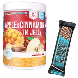 Apple & Cinnamon In Jelly 1000g + F**king Delicious Protein Bar GRATIS