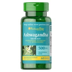 Ashwagandha Standardized Extract 500 mg - 60caps