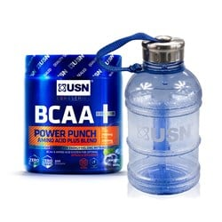 BCAA Power Punch + Water Bottle 1.1L - 400g+1szt