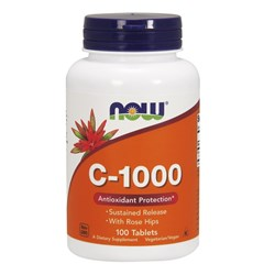 C-1000 Sustained Release with Rose Hips - 100tab