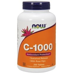 C-1000 Sustained Release with Rose Hips - 250tab