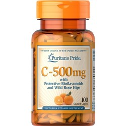 C-500 mg with Bioflavonoids and Wild Rose Hips
