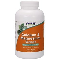 Calcium & Magnesium with Vitamin D and Zinc - 240softgels