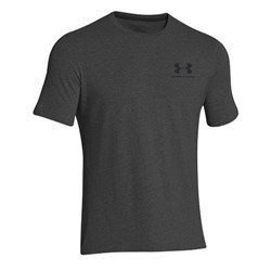 Charged Cotton Sportstyle Left Chest Logo T Dark Grey - 1szt