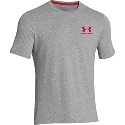 Charged Cotton Sportstyle Left Chest Logo T Light Grey - 1szt