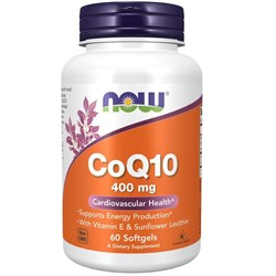 CoQ10 - 60 softgels (400mg)