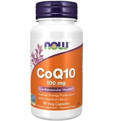 CoQ10 with Hawthorn Berry - 90veg caps(100mg)