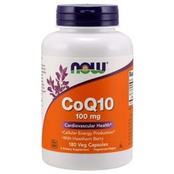 CoQ10 with Hawthorn Berry - 180veg caps(100mg)