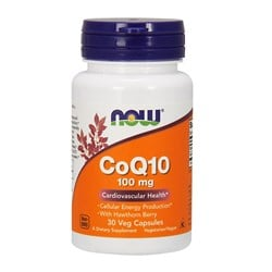 CoQ10 with Hawthorn Berry - 30veg caps(100mg)