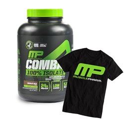 Combat 100% Isolate + T-shirt - 1814g+1szt