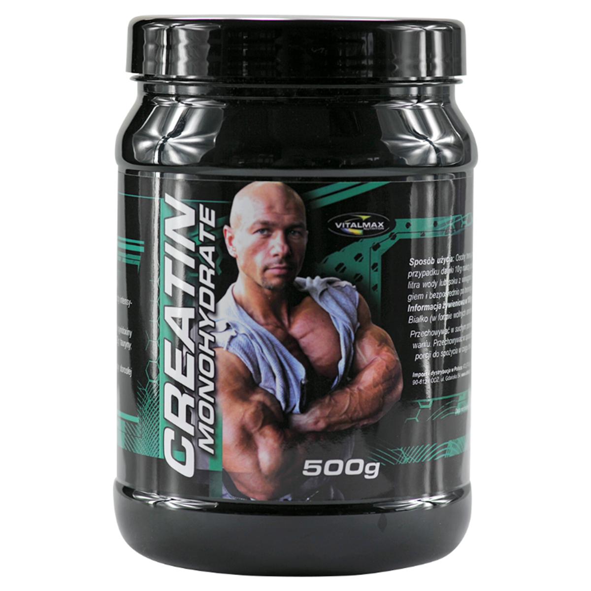 63f6c32c4c57 30 PLN • Creatin Monohydrate 500g - Vitalmax • NAJTANIEJ • Sklep SFD